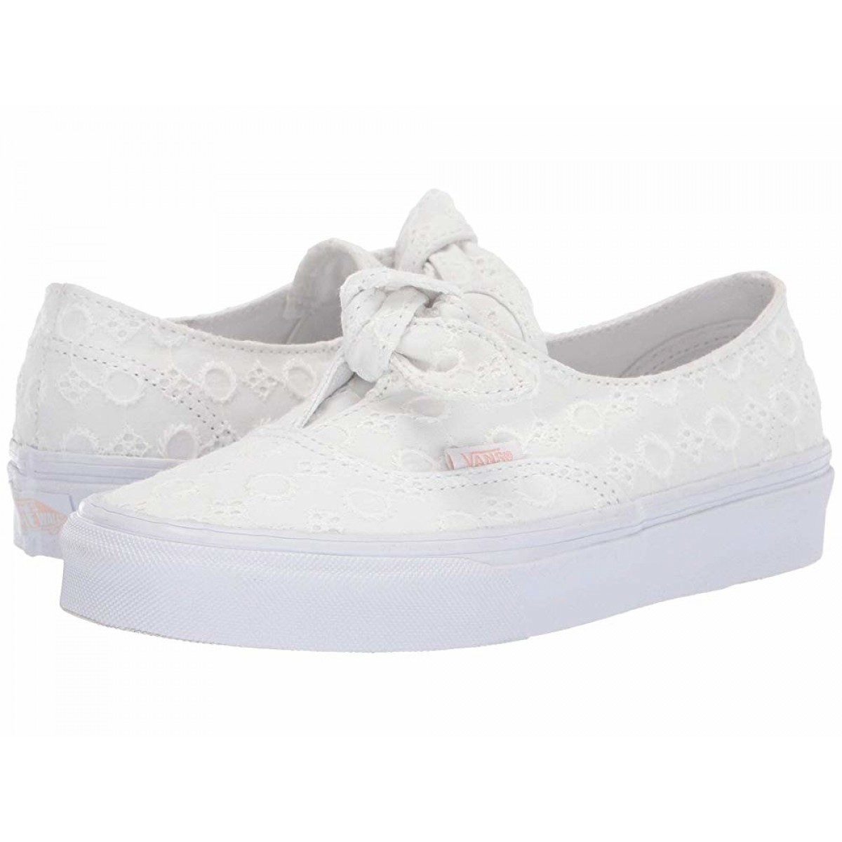 Vans Authentic Knotted (Cotton Lace) True White/True White for Sale
